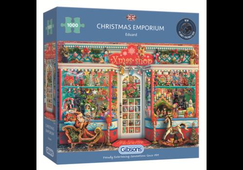 Gibsons Emporium de Noël - 1000 pièces
