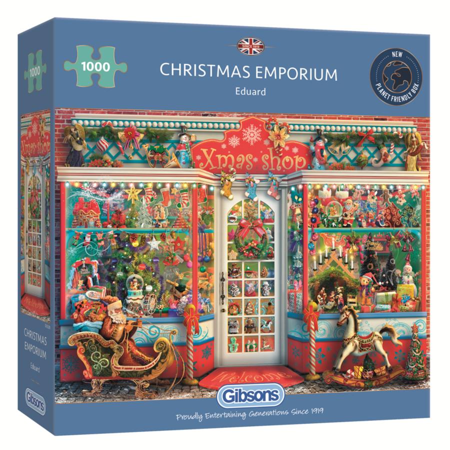 Kerst Emporium - puzzel van 1000 stukjes-1