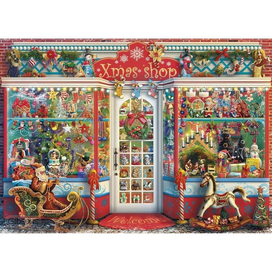 Kerst Emporium - puzzel van 1000 stukjes-2