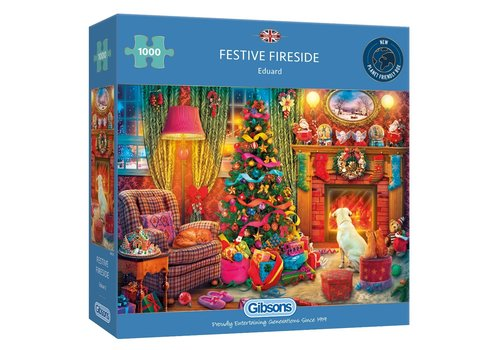 Gibsons Festive Fireside - 1000 pieces