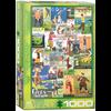 Eurographics Puzzles Golf rond de wereld - puzzel van 1000 stukjes