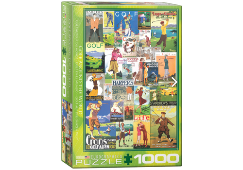 Eurographics Puzzles Golf around the World - 1000 pieces