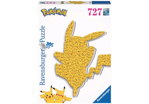 Ravensburger Shaped Pikachu  - 727 pièces