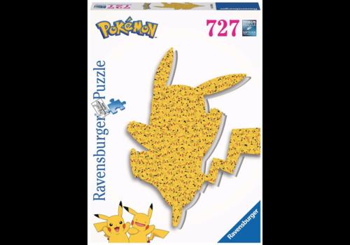 Ravensburger Shaped Pikachu - 727 stukjes