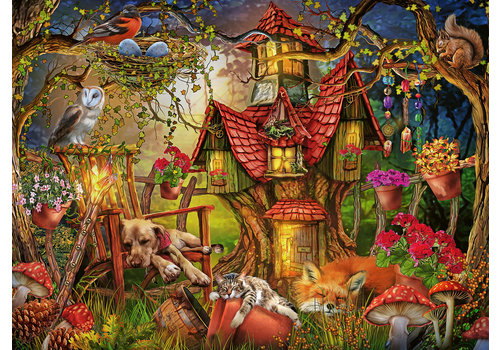 Ravensburger La maison de la forêt - 200 pièces