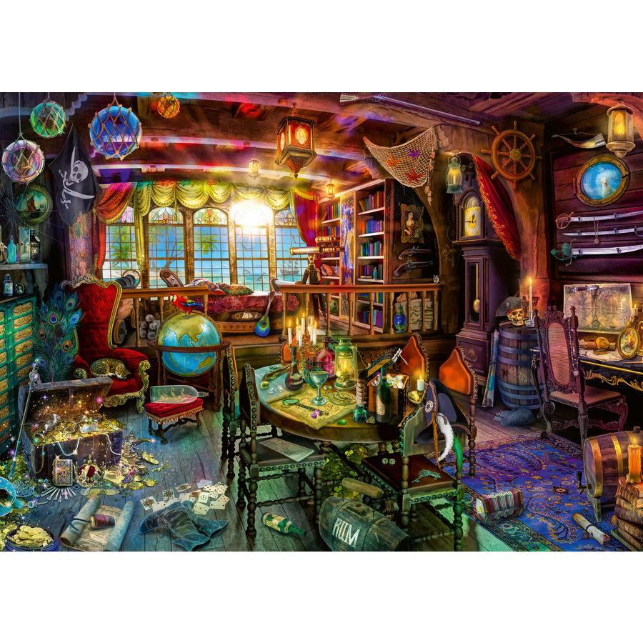 Het piratenleven - puzzel van  1000 stukjes-2