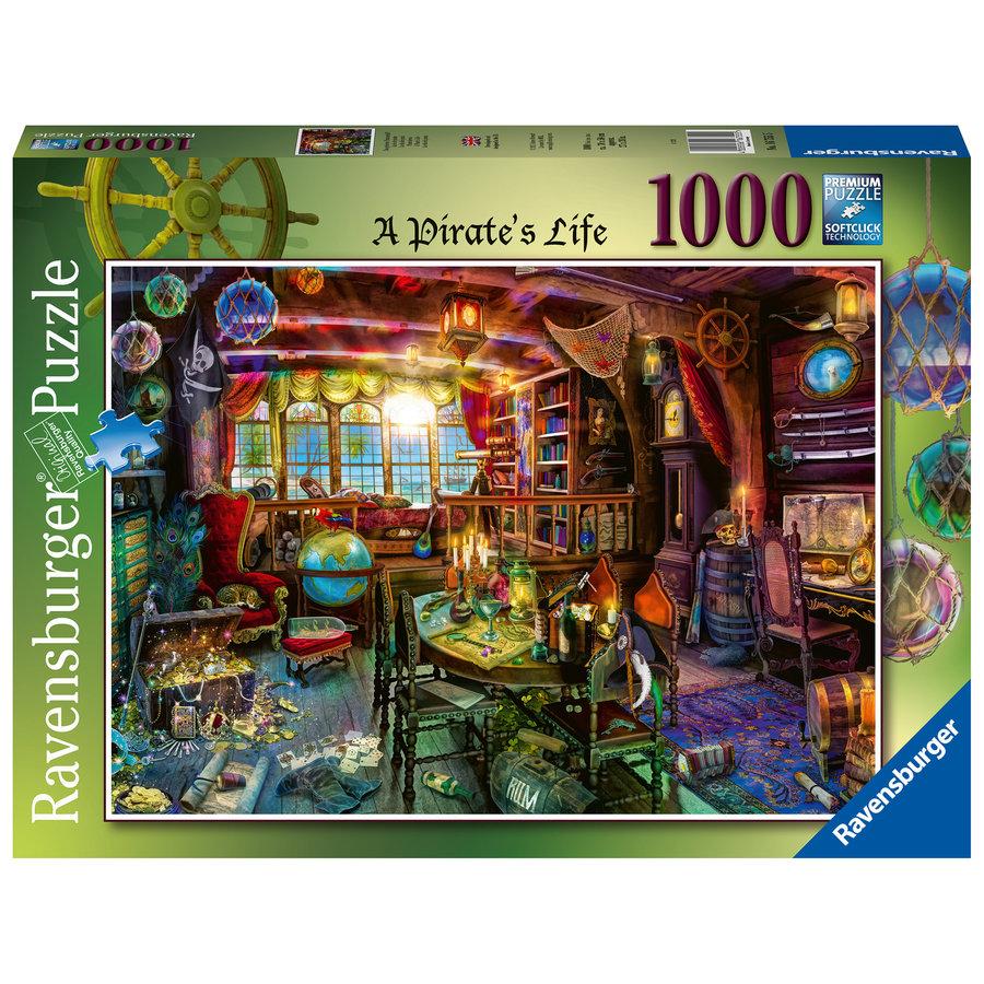 Het piratenleven - puzzel van  1000 stukjes-1
