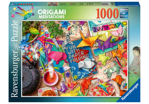 Ravensburger Méditations en origami - 1000 pieces