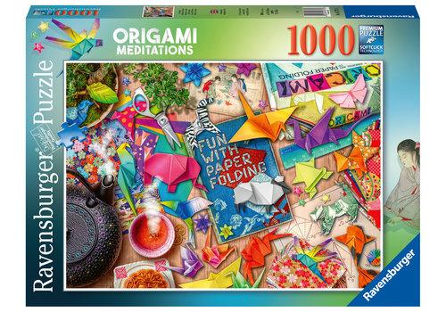 Ravensburger Origami Meditaties - 1000 stukjes