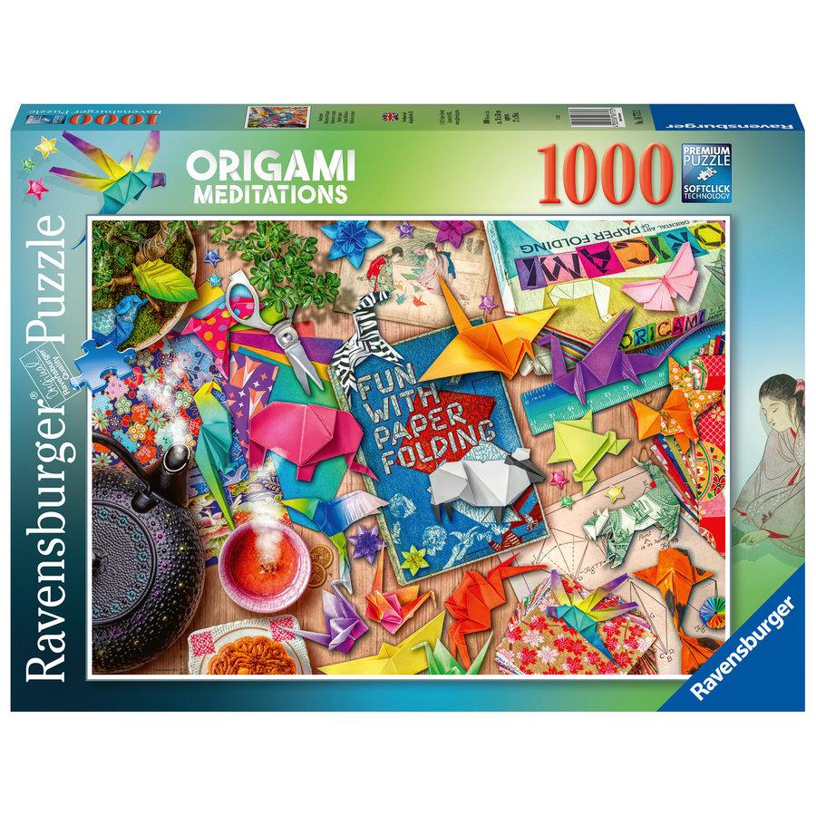 Origami Meditaties - puzzel van  1000 stukjes-1
