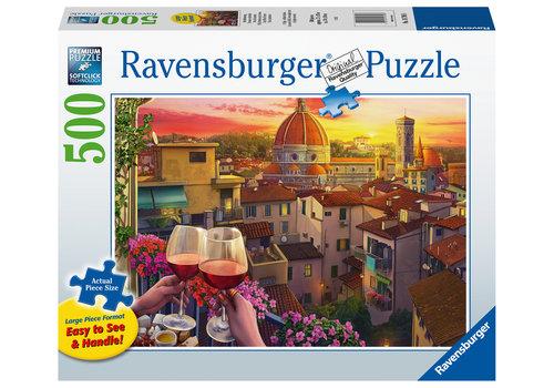 Ravensburger Cozy Wine Terrace - 500 pièces XL