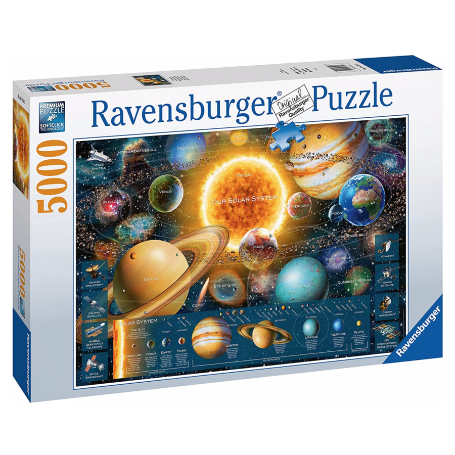Planeten - puzzel van 5000 stukjes-3