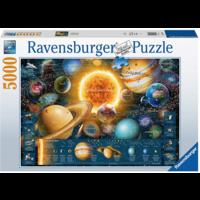 thumb-Planeten - puzzel van 5000 stukjes-1