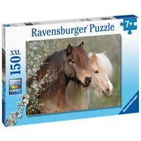 thumb-Mooie paarden - puzzel van 150 stukjes-3