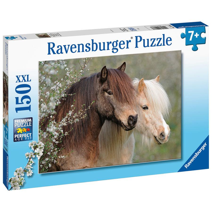 Mooie paarden - puzzel van 150 stukjes-3
