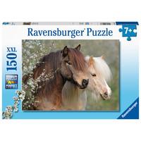 thumb-Mooie paarden - puzzel van 150 stukjes-1