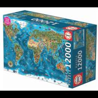 thumb-Wonderen  van de wereld - puzzel van 12000 stukjes-3