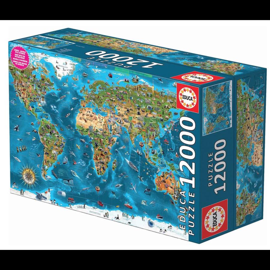 Wonderen  van de wereld - puzzel van 12000 stukjes-3