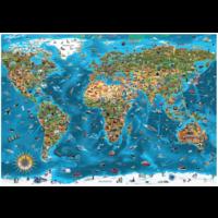 thumb-Wonderen  van de wereld - puzzel van 12000 stukjes-2