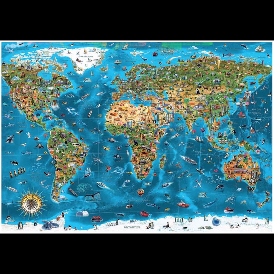 Wonderen  van de wereld - puzzel van 12000 stukjes-2