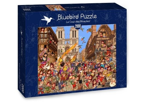 Bluebird Puzzle The Court of Miracles!  - 2000 pieces