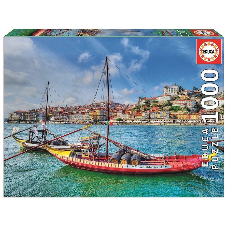 Rabelo boten, Porto - puzzel 1000 stukjes-2