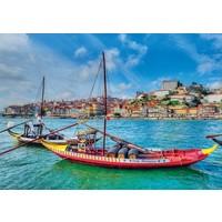 thumb-Rabelo boten, Porto - puzzel 1000 stukjes-1
