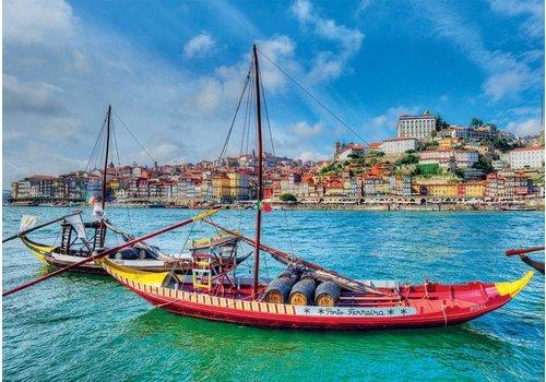 Educa Bateaux Rabelo, Porto - 1000 pièces