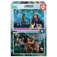 thumb-Raya and the last Dragon - 2 puzzles of 100 pieces-1
