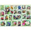 Bluebird Puzzle Bloemen Postzegel Collectie - puzzel van 2000 stukjes