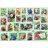Bluebird Puzzle Stamp Flower Collection - puzzle of 2000 pieces