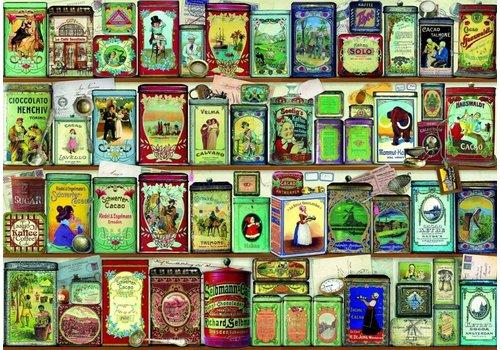 Bluebird Puzzle Collection de Canettes - 2000 pièces