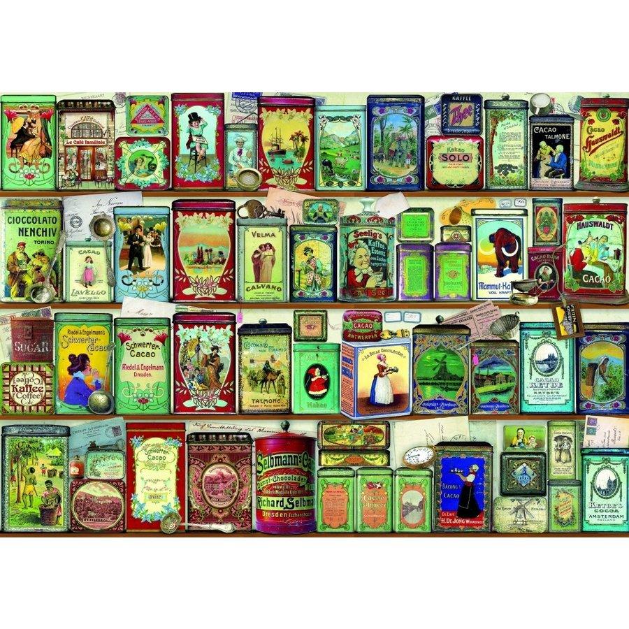 Collectie Blikjes - puzzel van 2000 stukjes-1