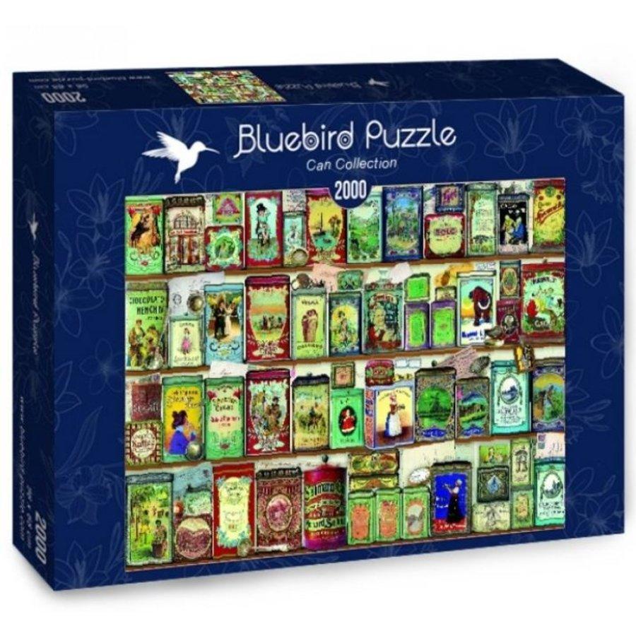 Collectie Blikjes - puzzel van 2000 stukjes-2