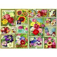 thumb-Bloemen Foto's - puzzel van 1500 stukjes-1