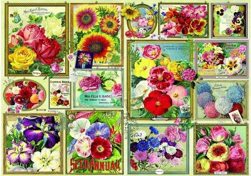 Bluebird Puzzle Images des fleurs - 1500 pièces