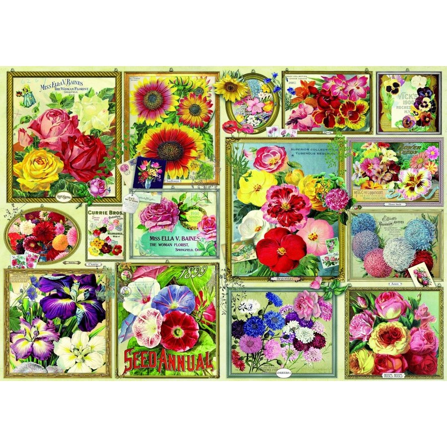Flower Pictures - puzzle of 1500 pieces-1