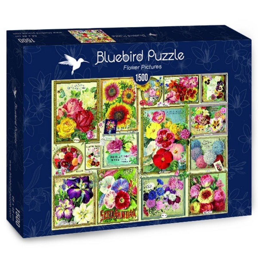 Flower Pictures - puzzle of 1500 pieces-2