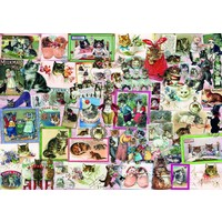 thumb-Cats - puzzle of 1500 pieces-1