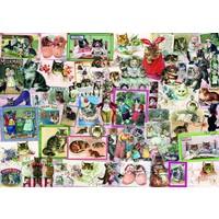 thumb-Katten - puzzel van 1500 stukjes-1
