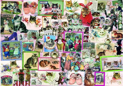 Bluebird Puzzle Cats - 1500 pieces
