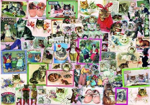 Bluebird Puzzle Katten - 1500 stukjes