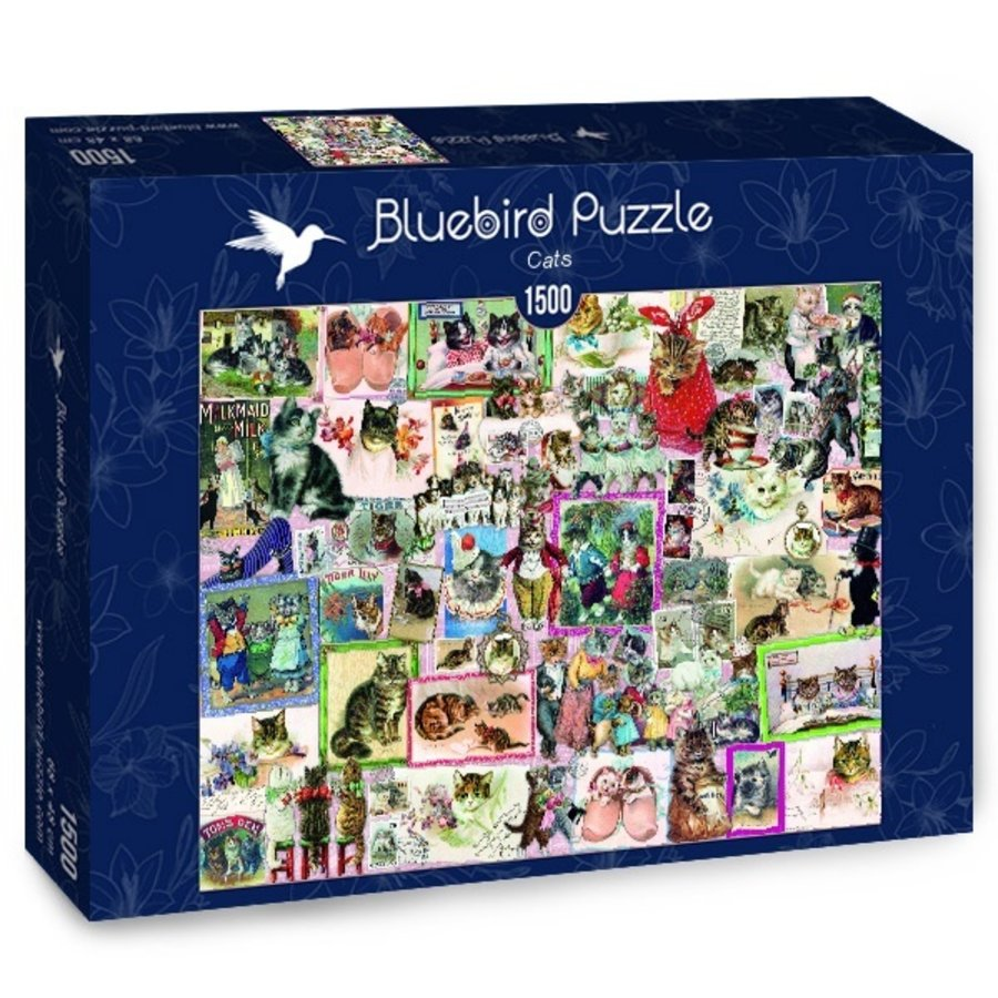 Cats - puzzle of 1500 pieces-2