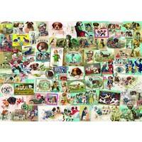 thumb-Honden - puzzel van 1500 stukjes-1