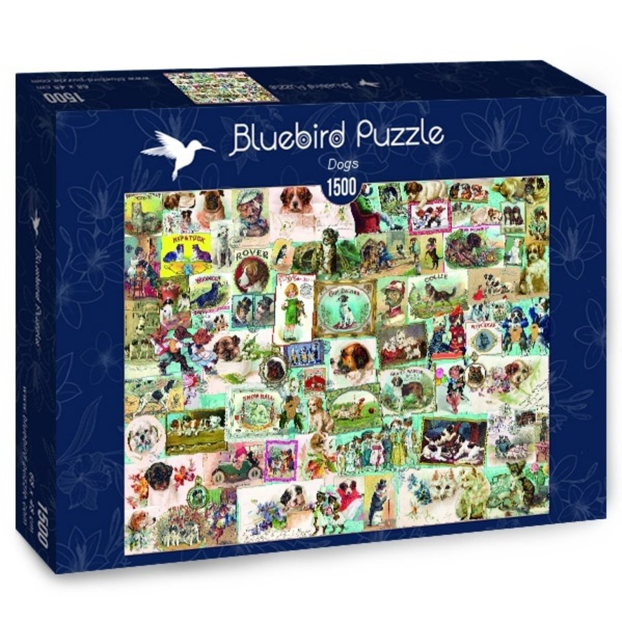 Dogs - puzzle of 1500 pieces-2