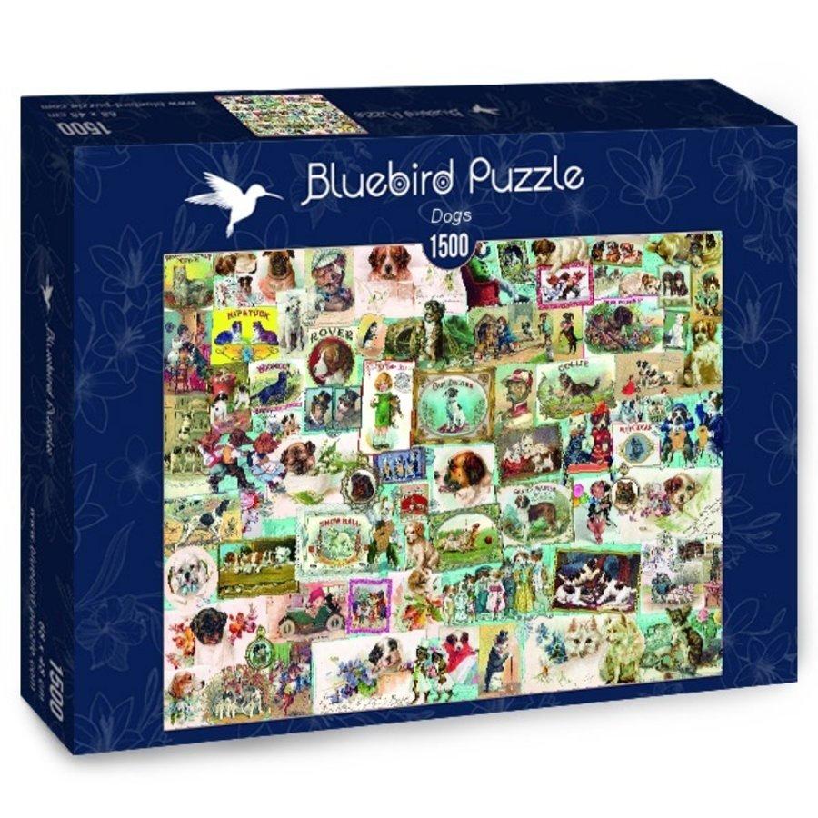 Honden - puzzel van 1500 stukjes-2