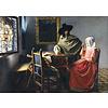 Bluebird Puzzle Vermeer - Het Wijnglas, 1661 - 1000 stukjes