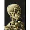 Bluebird Puzzle Vincent Van Gogh - Hoofd van een skelet met een brandende sigaret, 1886 - 1000 stukjes