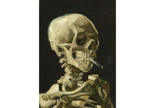 Bluebird Puzzle Vincent Van Gogh - Hoofd van een skelet met een brandende sigaret - 1000 stukjes