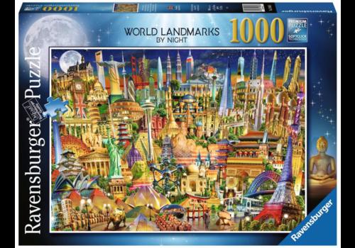 Ravensburger Wereld monumenten verlicht - 1000 stukjes